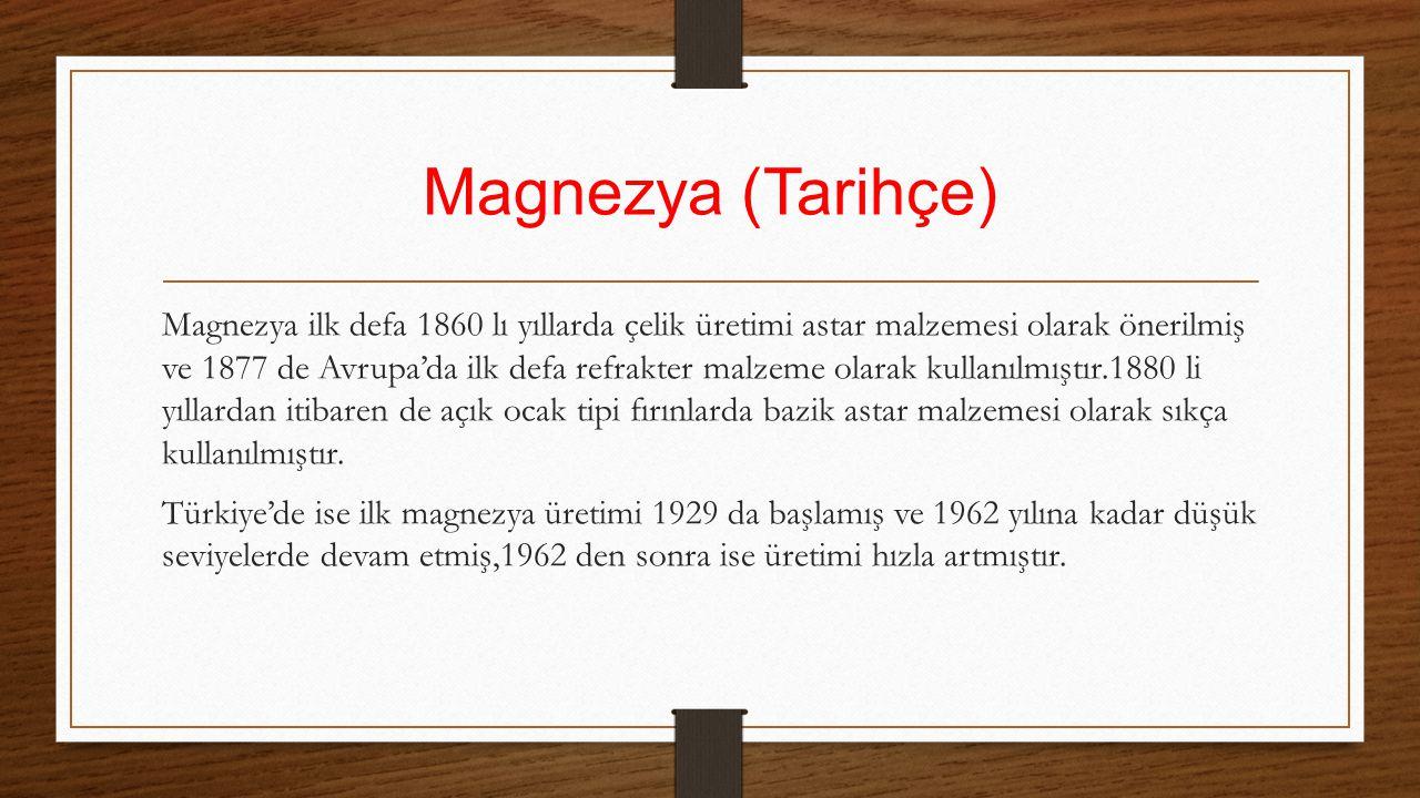 Magnezya (Tarihçe)
