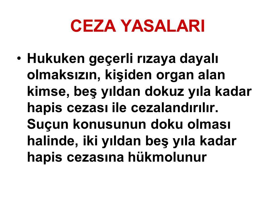 CEZA YASALARI