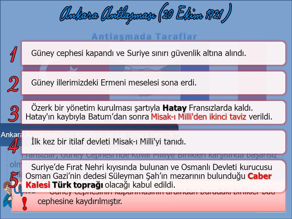 Ankara Antlaşması'nın imzalanmasının önemi nelerdir