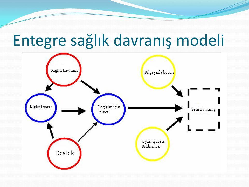 Entegre sağlık davranış modeli