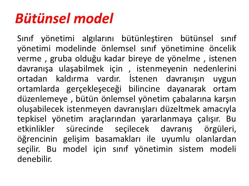 Bütünsel model