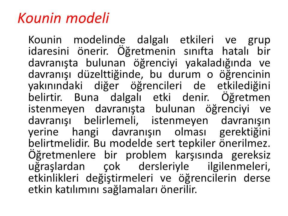 Kounin modeli