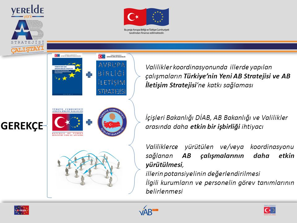 Valilikler koordinasyonunda illerde yapılan çalışmaların Türkiye'nin Yeni AB Stratejisi ve AB İletişim Stratejisi'ne katkı sağlaması