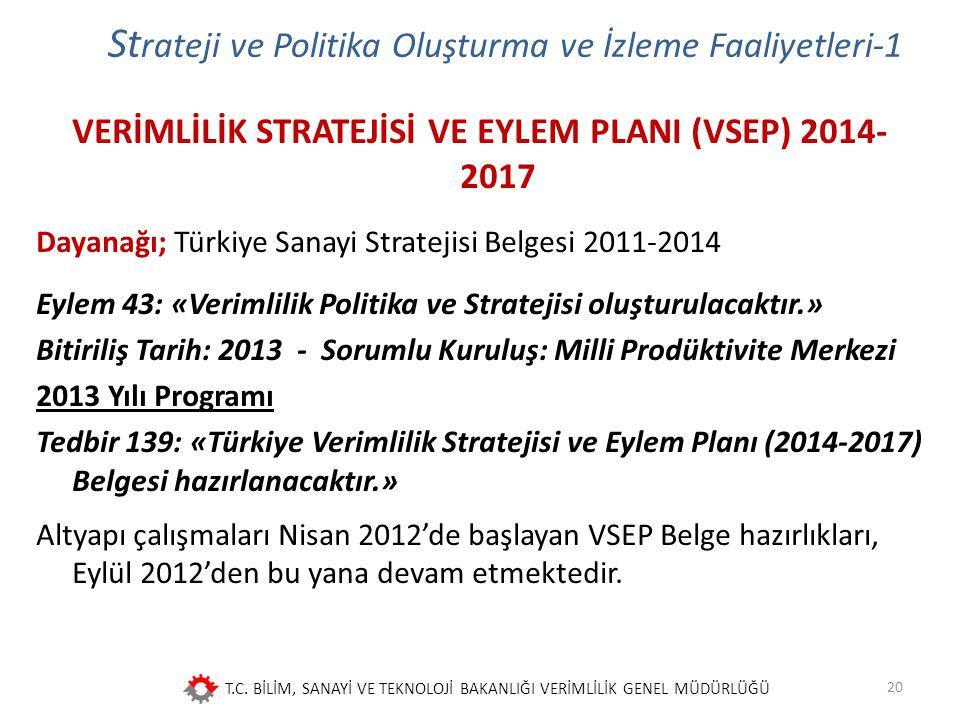 Strateji ve Politika Oluşturma ve İzleme Faaliyetleri-1