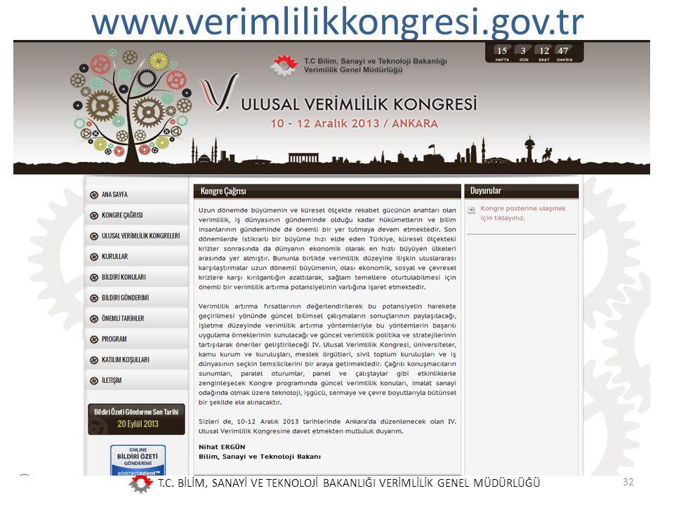 www.verimlilikkongresi.gov.tr