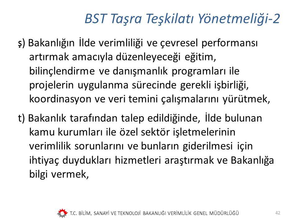 BST Taşra Teşkilatı Yönetmeliği-2