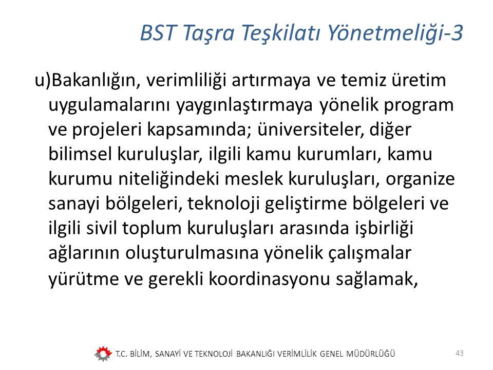 BST Taşra Teşkilatı Yönetmeliği-3