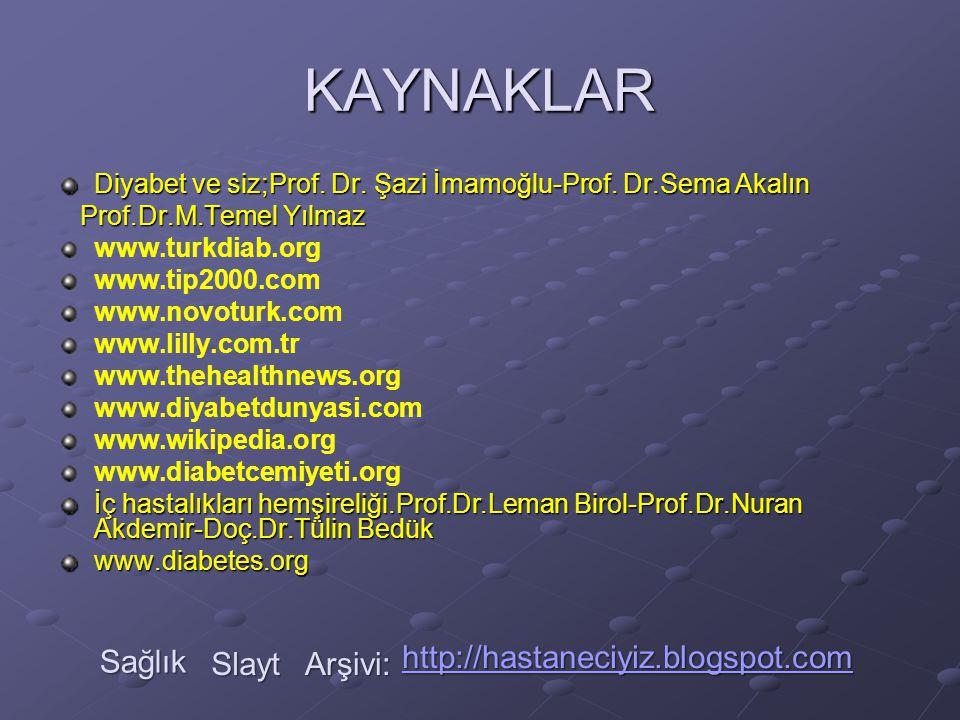 KAYNAKLAR Sağlık http://hastaneciyiz.blogspot.com Slayt Arşivi:
