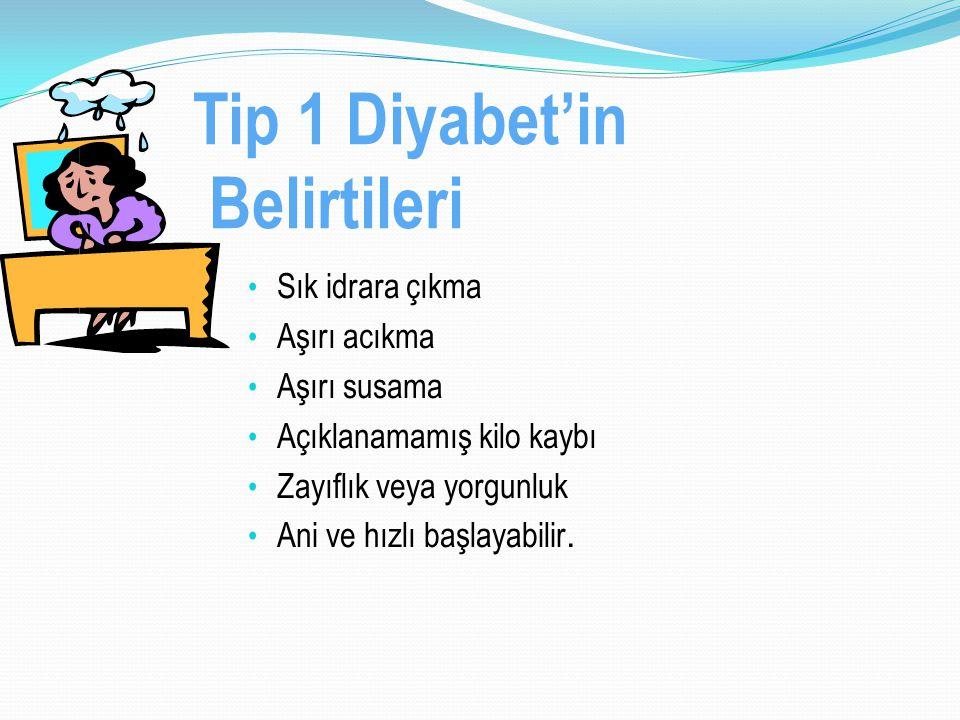Tip 1 Diyabet'in Belirtileri