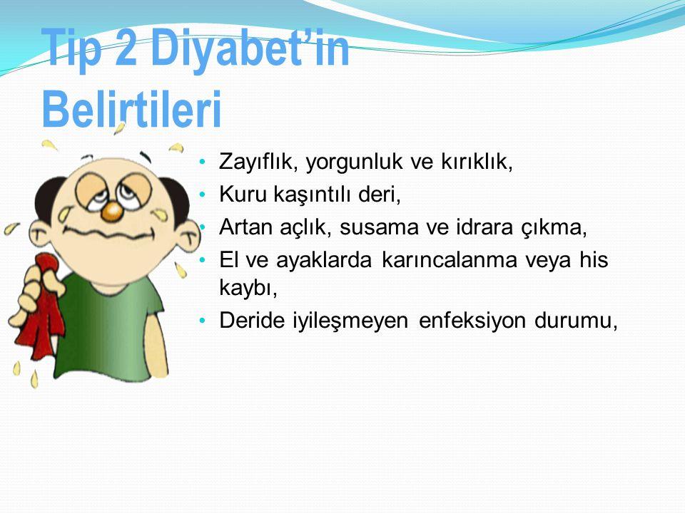 Tip 2 Diyabet'in Belirtileri