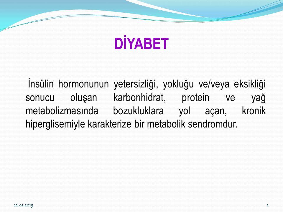 DİYABET