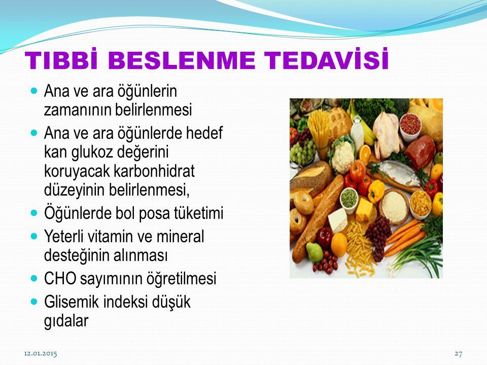 TIBBİ BESLENME TEDAVİSİ