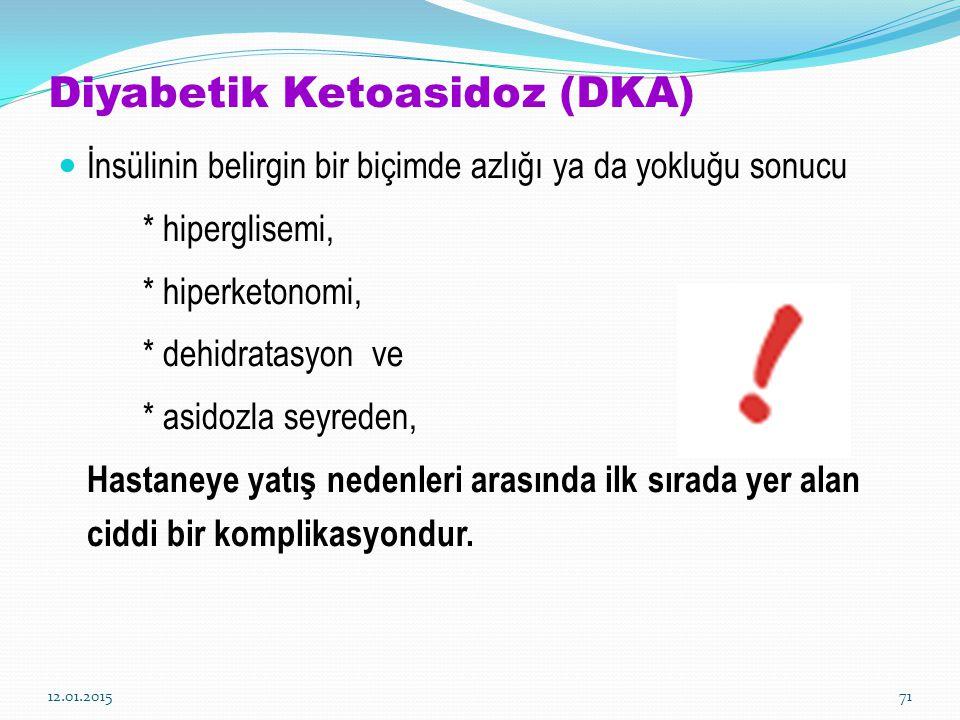 Diyabetik Ketoasidoz (DKA)