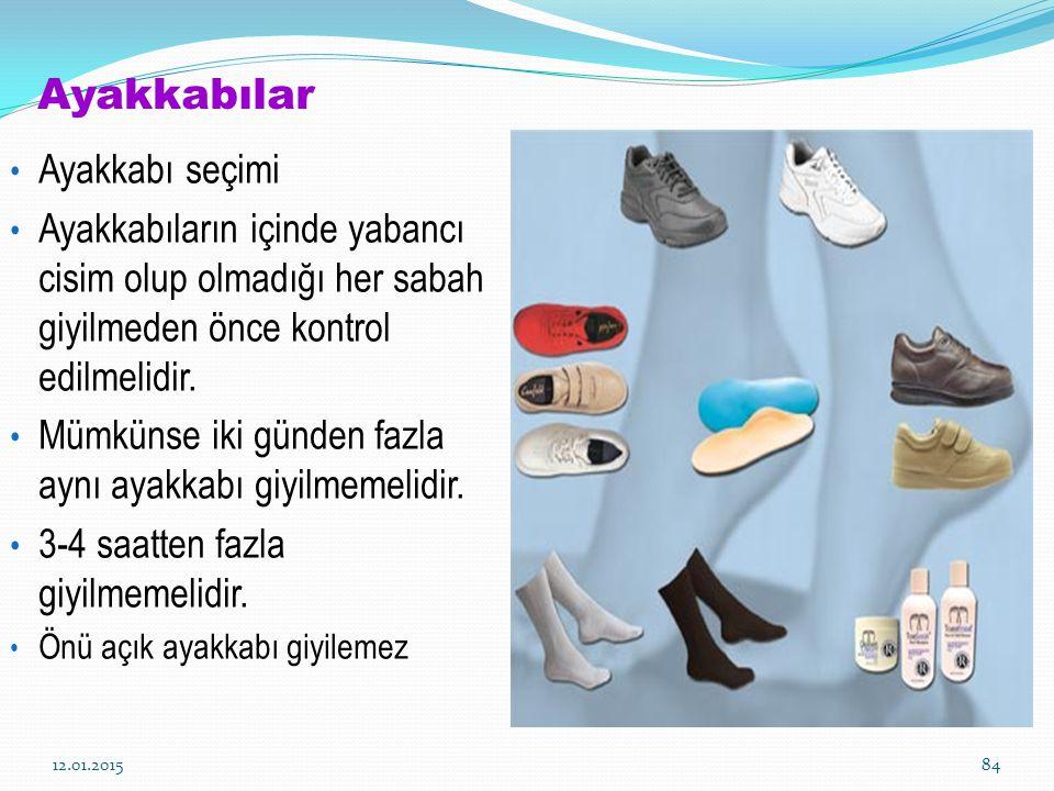 Ayakkabılar Ayakkabı seçimi