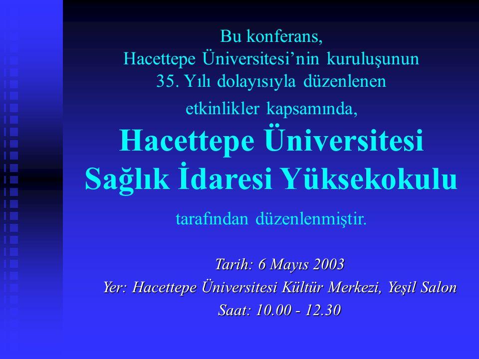 Yer: Hacettepe Üniversitesi Kültür Merkezi, Yeşil Salon