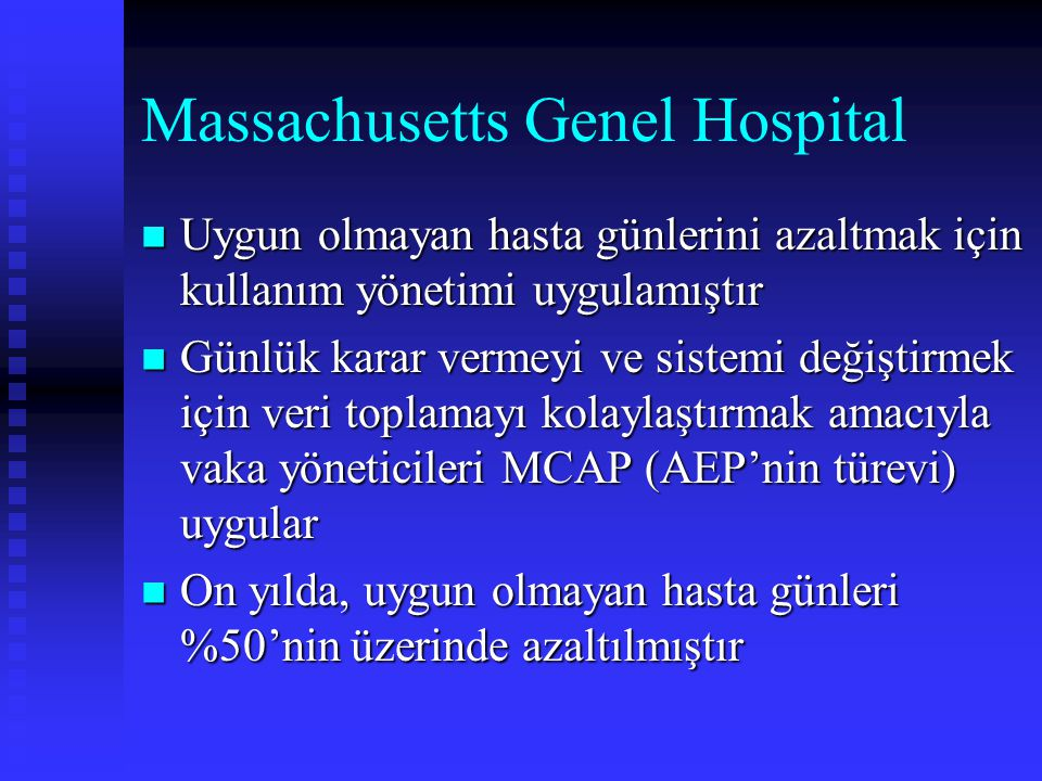 Massachusetts Genel Hospital