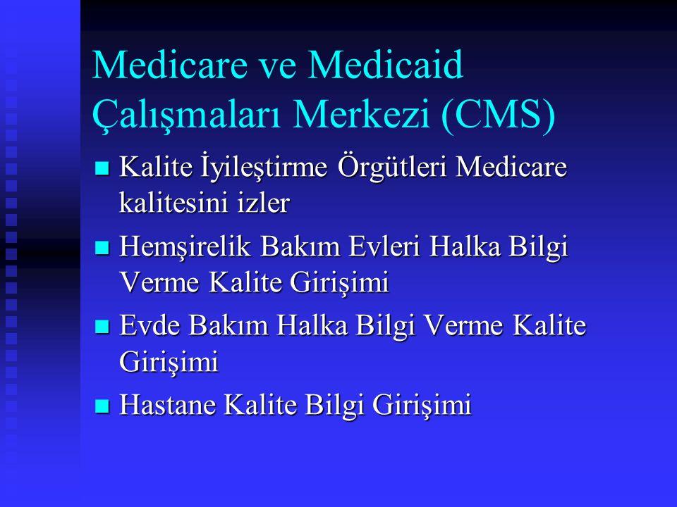 Medicare ve Medicaid Çalışmaları Merkezi (CMS)