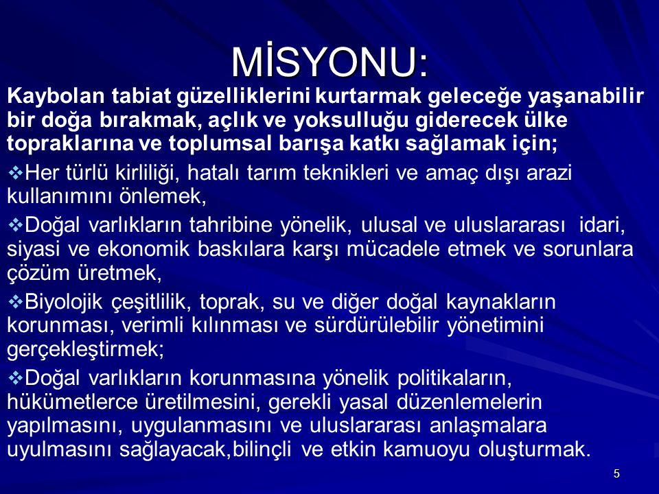 MİSYONU: