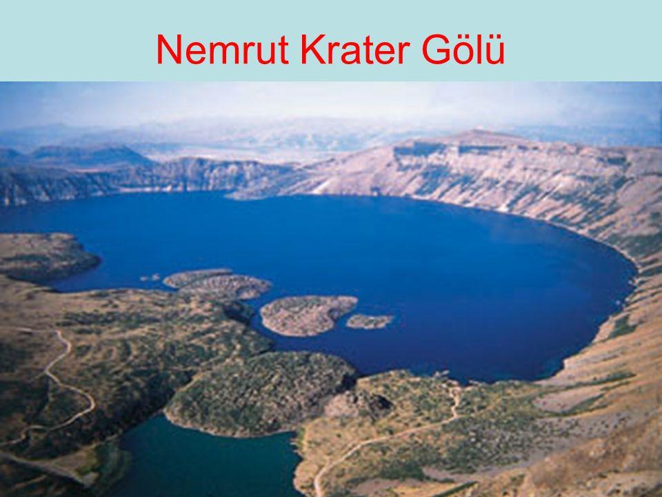Nemrut Krater Gölü