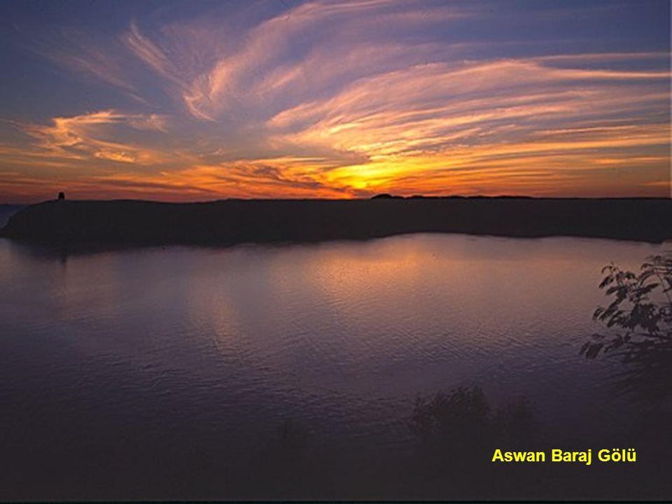 Aswan Baraj Gölü