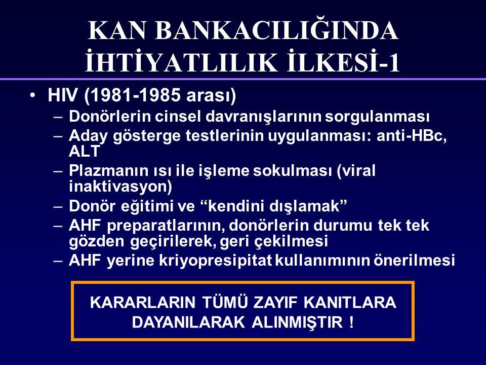 KAN BANKACILIĞINDA İHTİYATLILIK İLKESİ-1