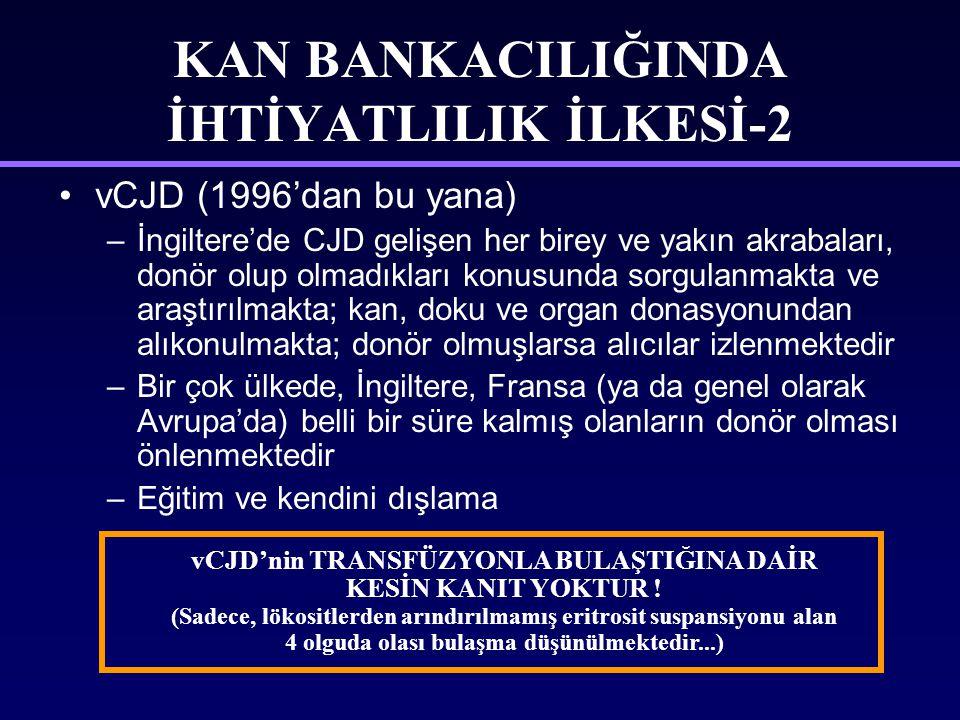 KAN BANKACILIĞINDA İHTİYATLILIK İLKESİ-2