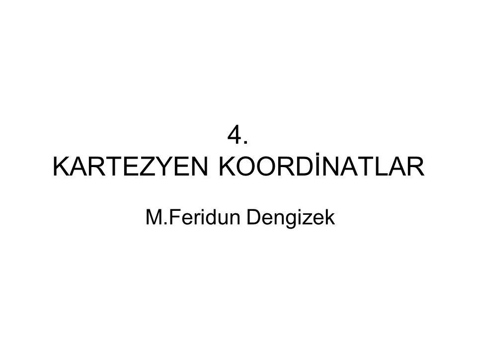 4. KARTEZYEN KOORDİNATLAR