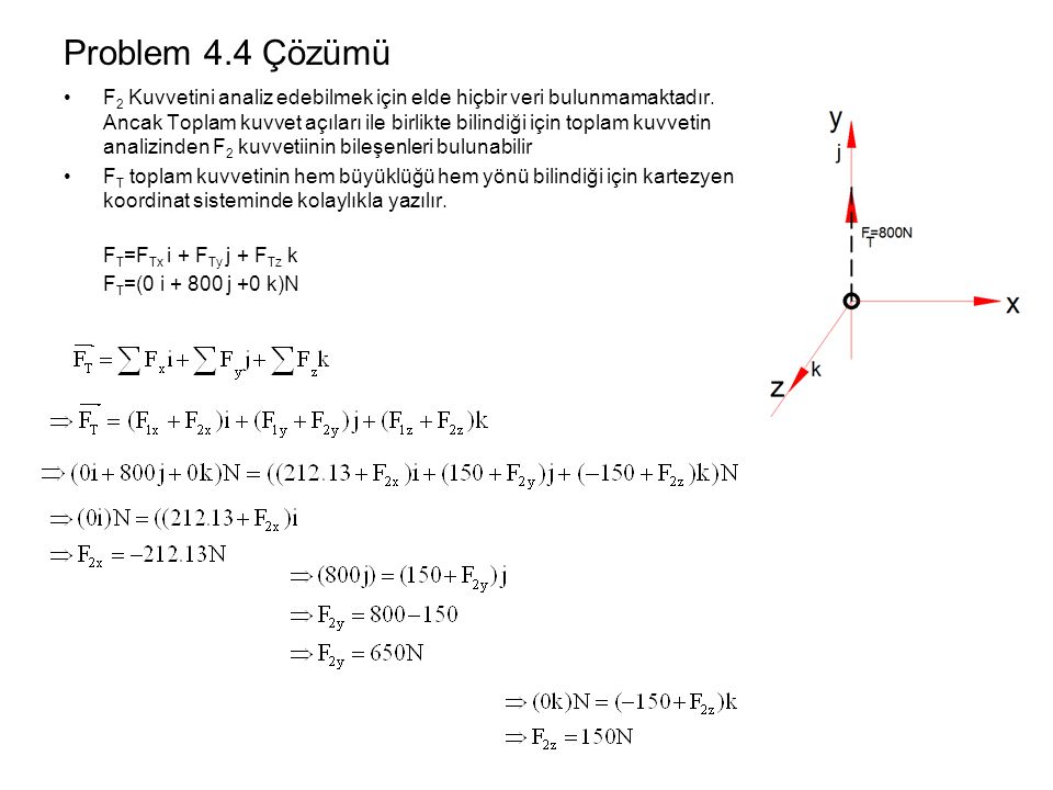Problem 4.4 Çözümü