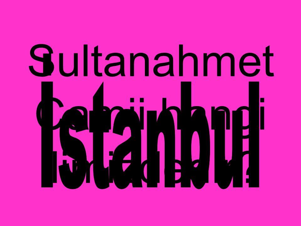 Sultanahmet Camii hangi ilimizdedir