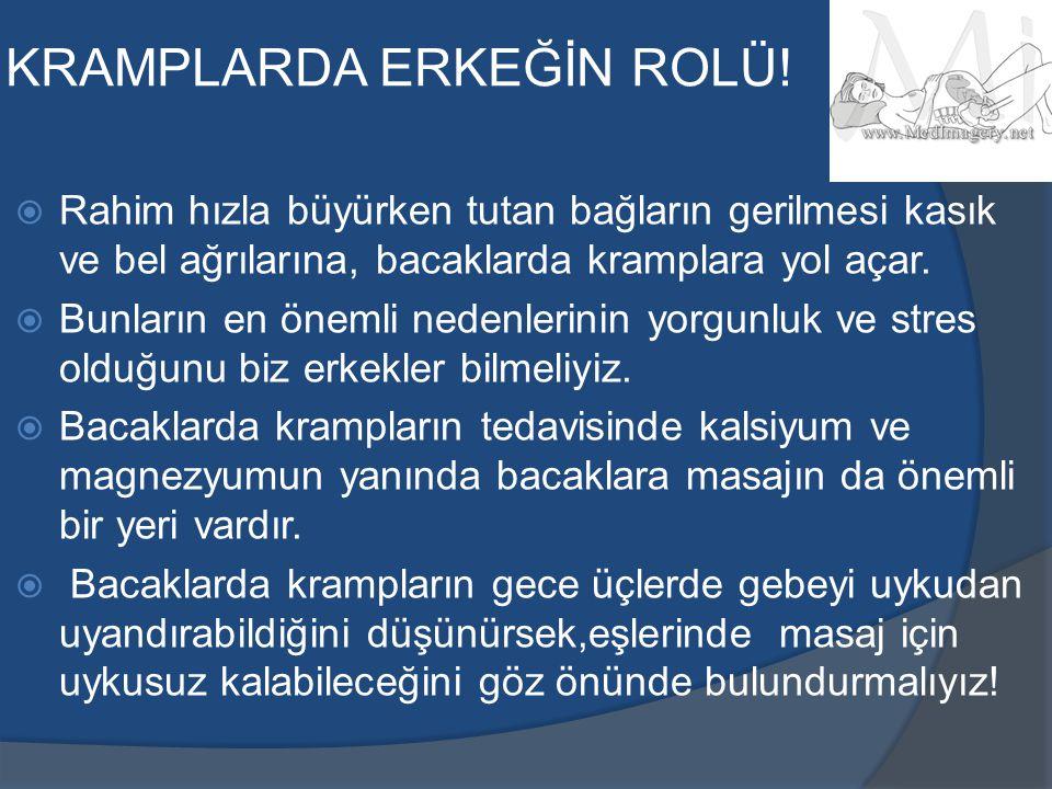 KRAMPLARDA ERKEĞİN ROLÜ!