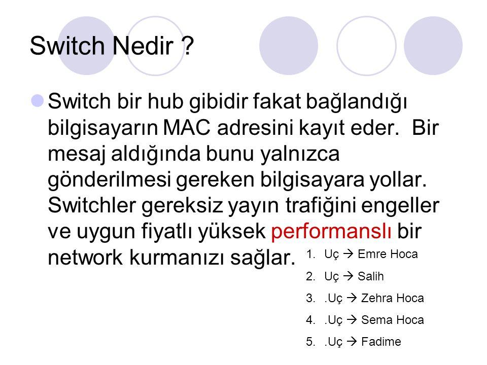 Switch Nedir