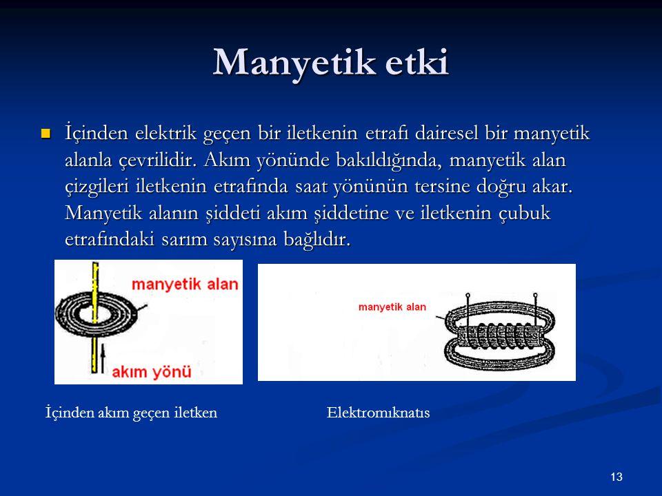 Manyetik etki