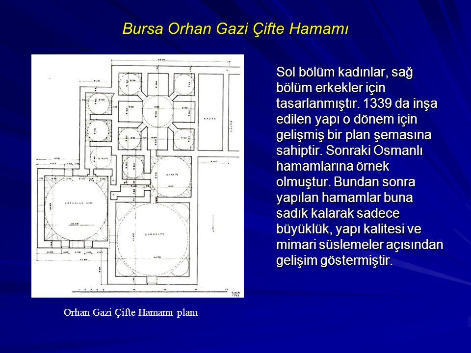 Bursa Orhan Gazi Çifte Hamamı