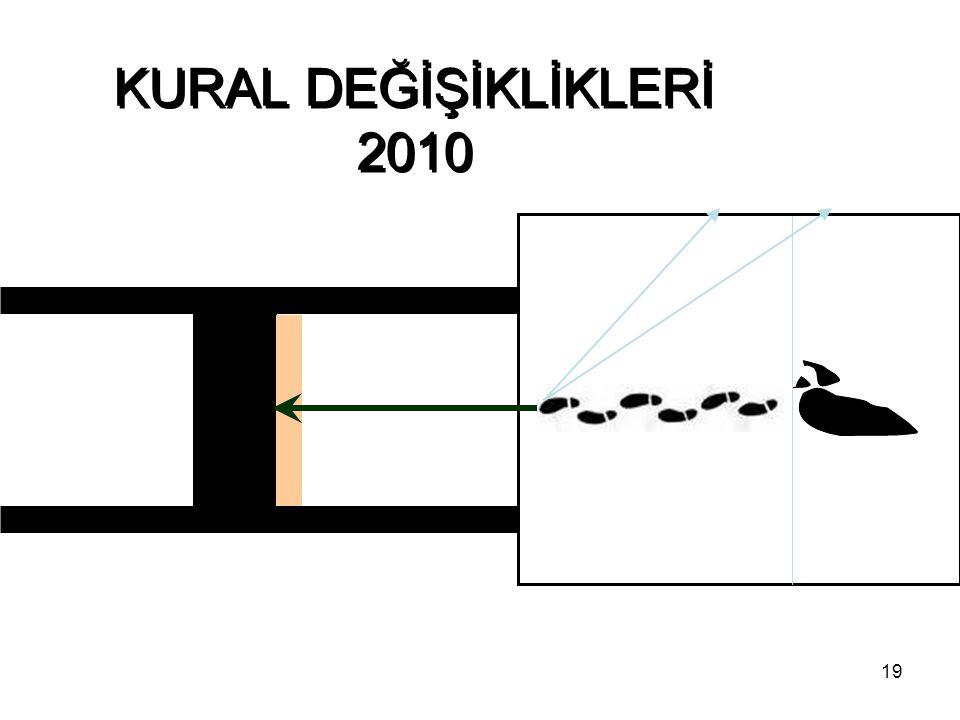 KURAL DEĞİŞİKLİKLERİ 2010