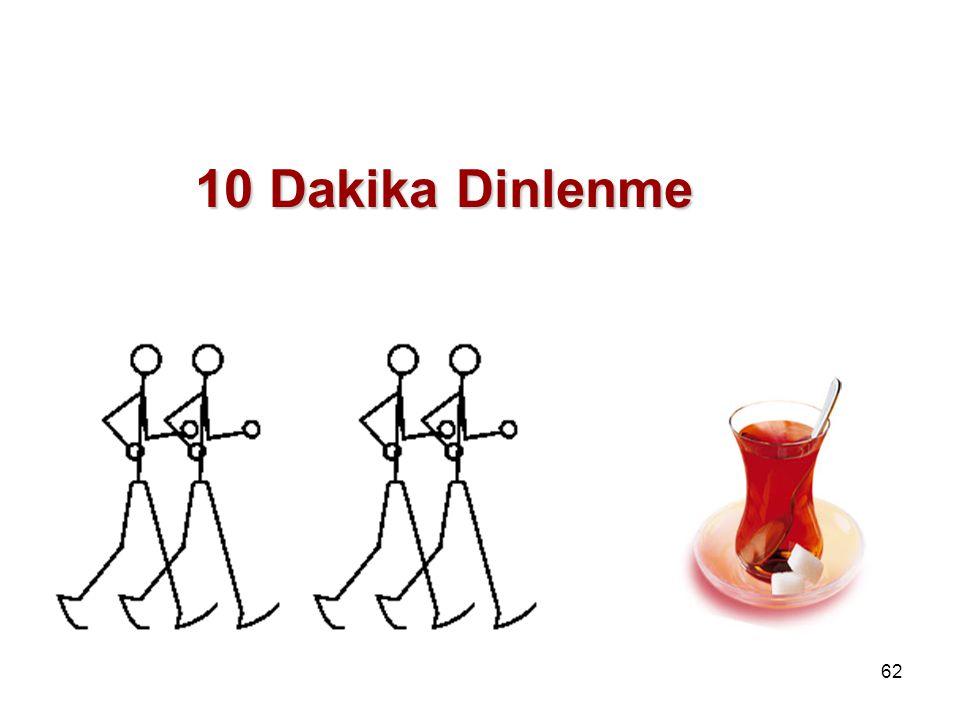 10 Dakika Dinlenme