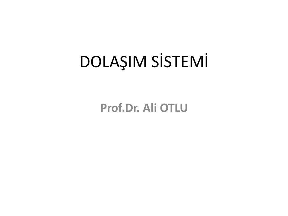 DOLAŞIM SİSTEMİ Prof.Dr. Ali OTLU