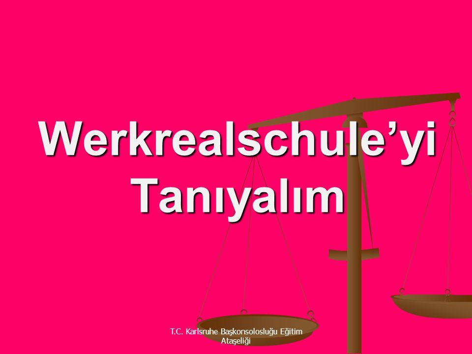 Werkrealschule'yi Tanıyalım