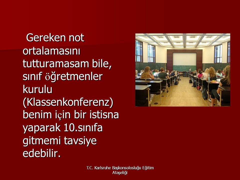 T.C. Karlsruhe Başkonsolosluğu Eğitim Ataşeliği