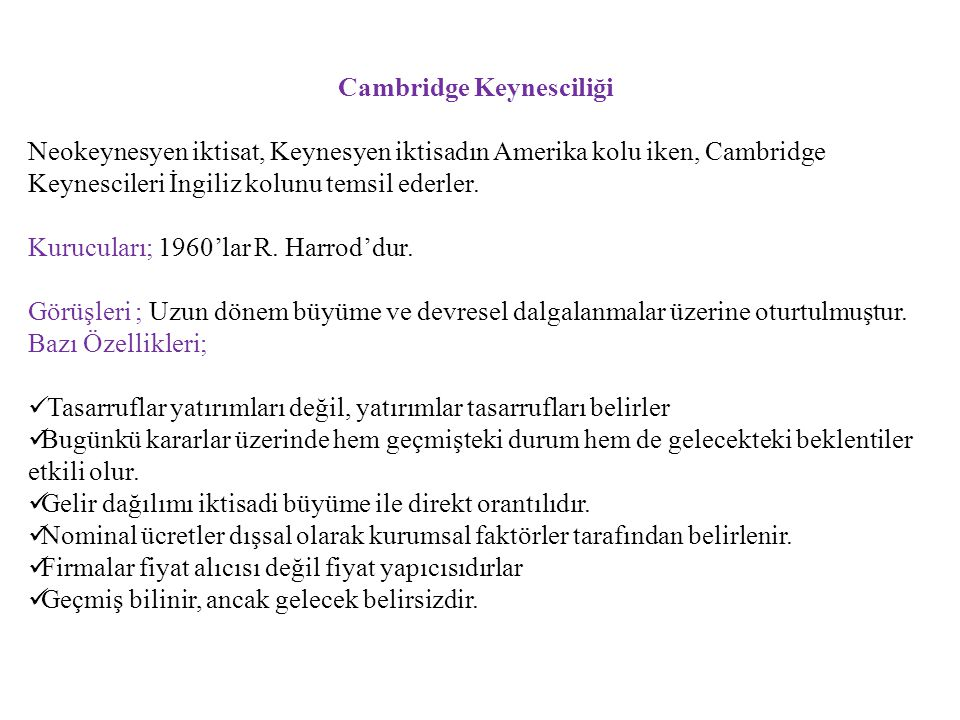Cambridge Keynesciliği