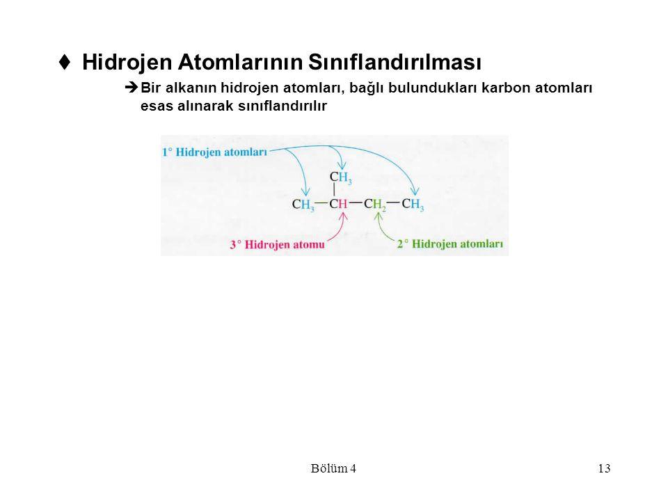 Hidrojen Atomlarının Sınıflandırılması