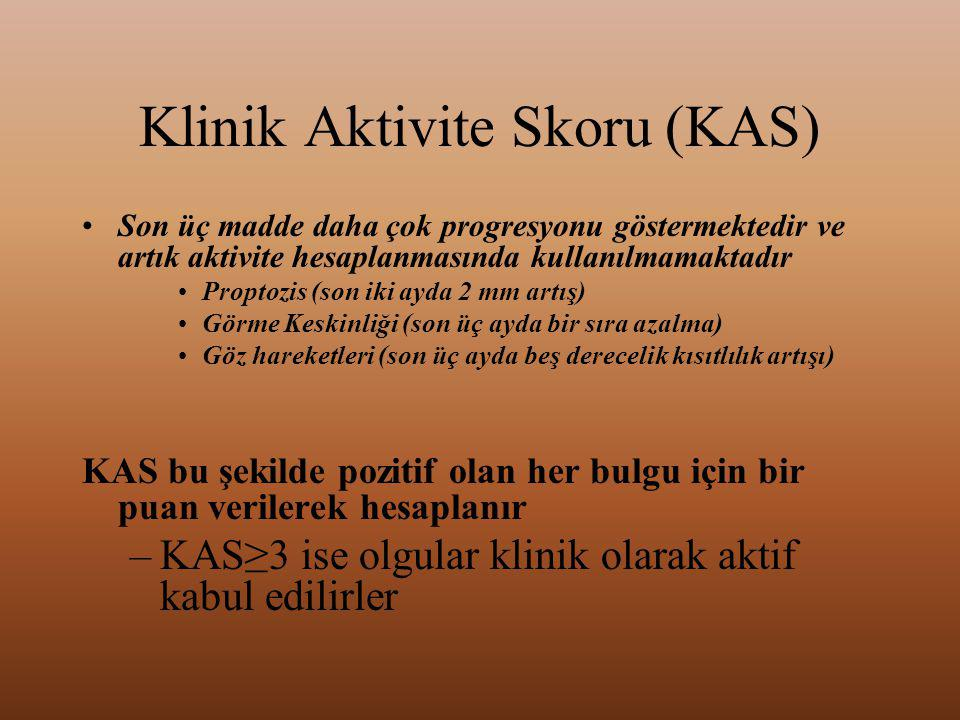 Klinik Aktivite Skoru (KAS)