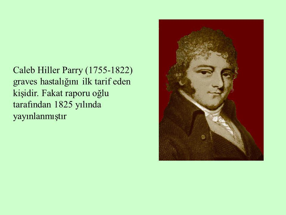 Caleb Hiller Parry (1755-1822) graves hastalığını ilk tarif eden kişidir.
