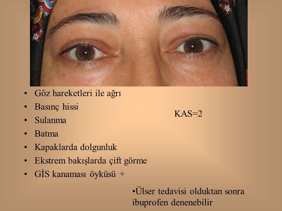 Göz hareketleri ile ağrı