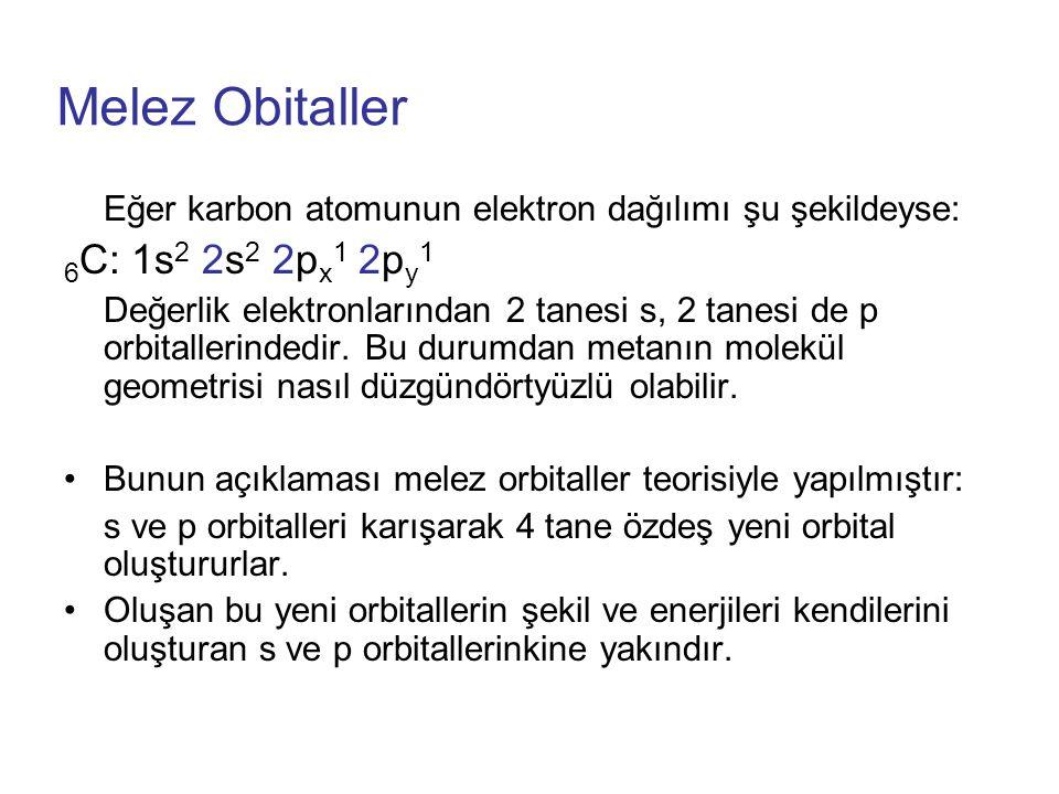 Melez Obitaller 6C: 1s2 2s2 2px1 2py1