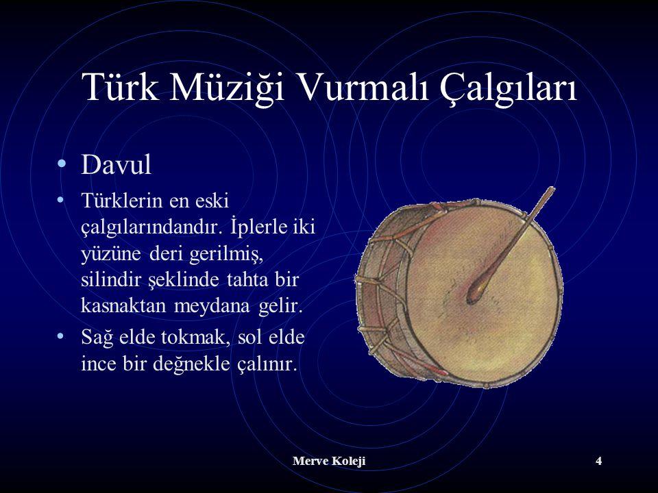 Türk Müziği Vurmalı Çalgıları