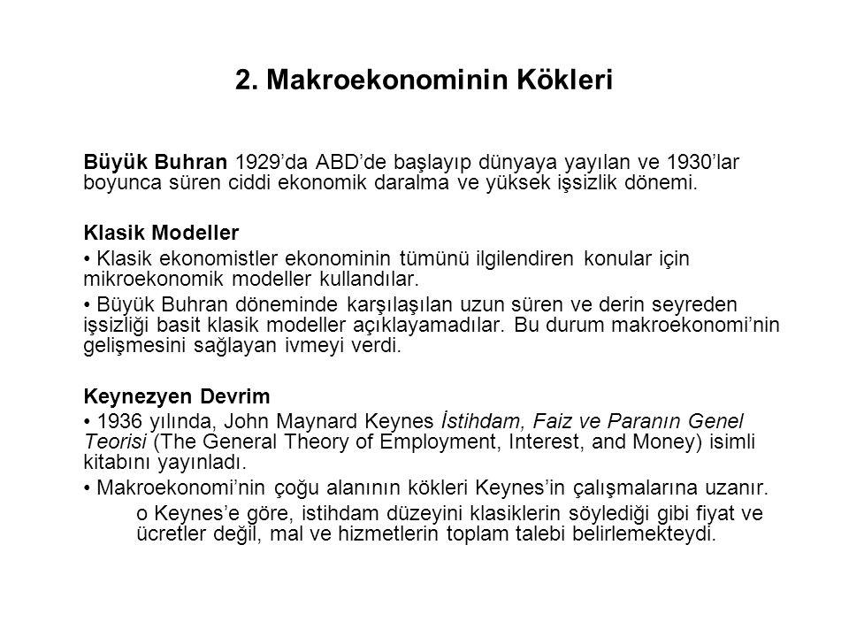2. Makroekonominin Kökleri