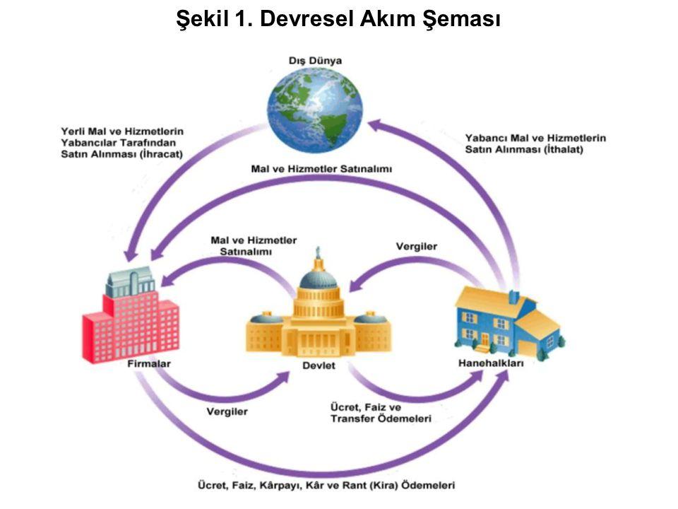 Şekil 1. Devresel Akım Şeması