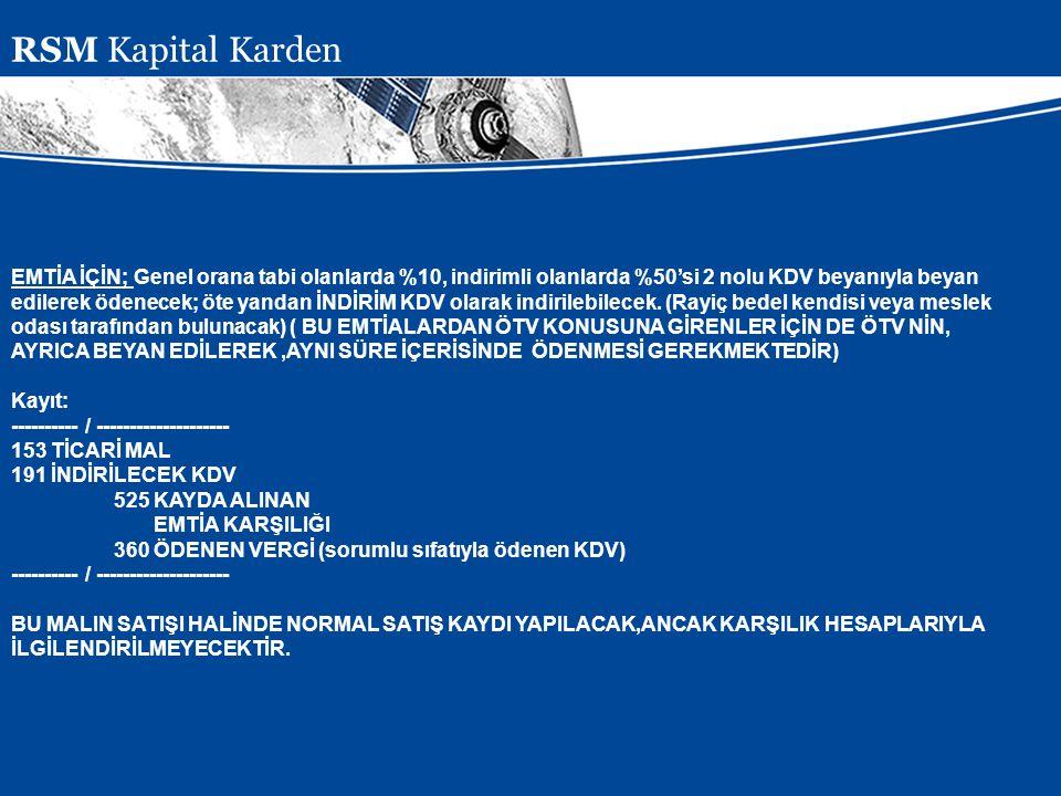 RSM Kapital Karden