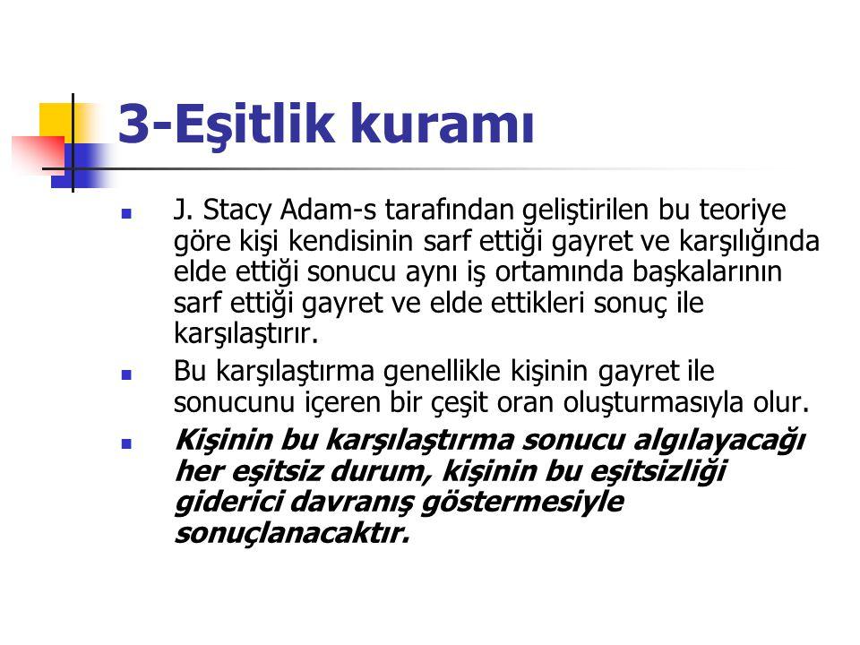 3-Eşitlik kuramı