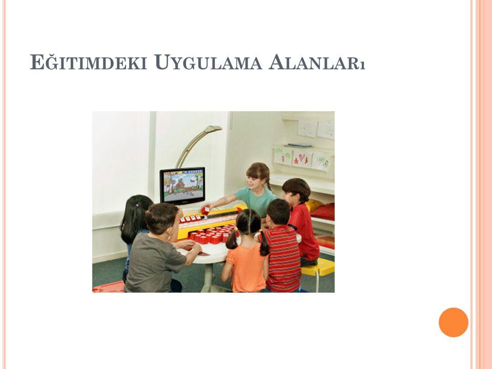 Eğitimdeki Uygulama Alanları